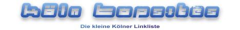 KÖLN TOPSITES - Die kleine Kölner Linkliste